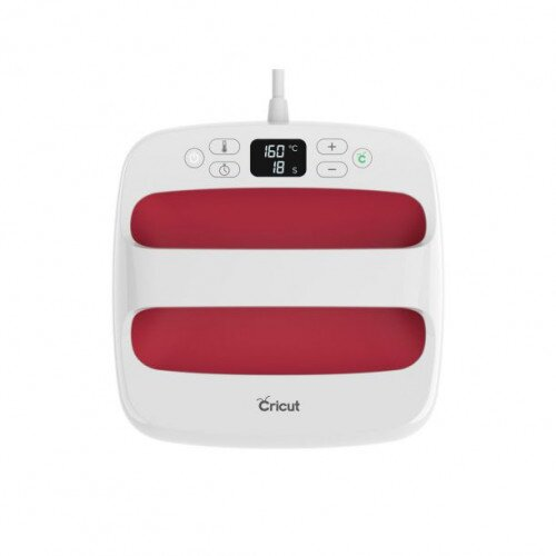 "Cricut EasyPress 2 Heat Press Machine - 9"" x 9"" - Raspberry - US"