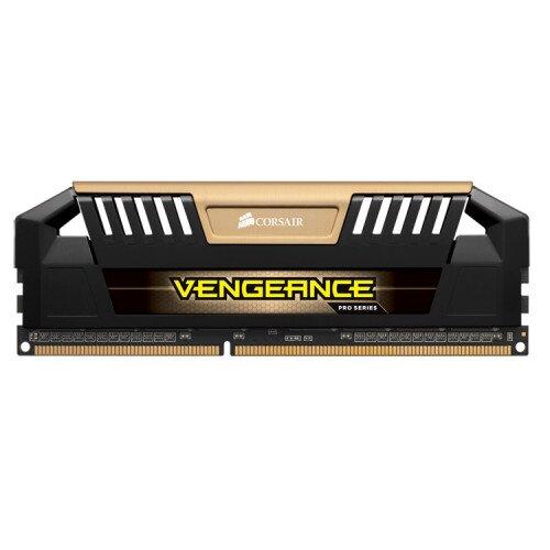 Corsair Vengeance Pro Series - 16GB (2 x 8GB) DDR3 DRAM 1600MHz C9 Memory Kit - Gold