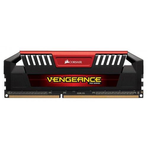 Corsair Vengeance Pro Series 32GB (4x8GB) 1.35V DDR3L DRAM 1866MHz C10 Memory Kit - Red