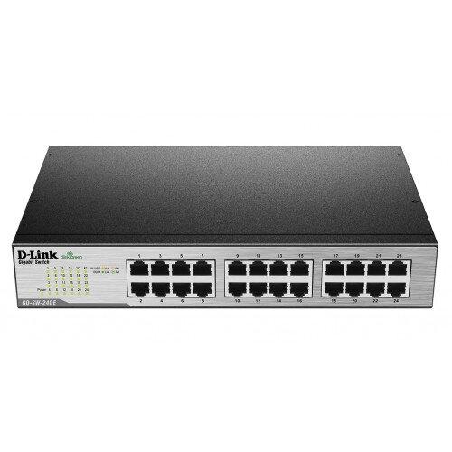 D-Link 24-Port Gigabit Unmanaged Metal Desktop or Rackmount Switch
