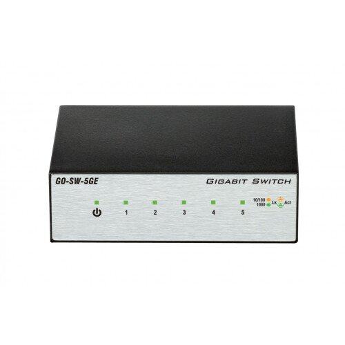 D-Link 5-Port Gigabit Unmanaged Metal Desktop Switch
