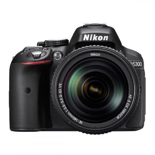 Nikon D5300 Digital SLR Camera - Black - Two Lens Kit