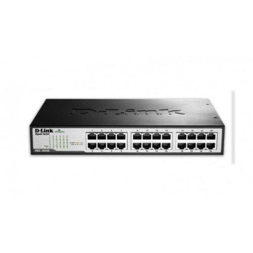 D-Link 24-Port Gigabit Unmanaged Desktop Switch