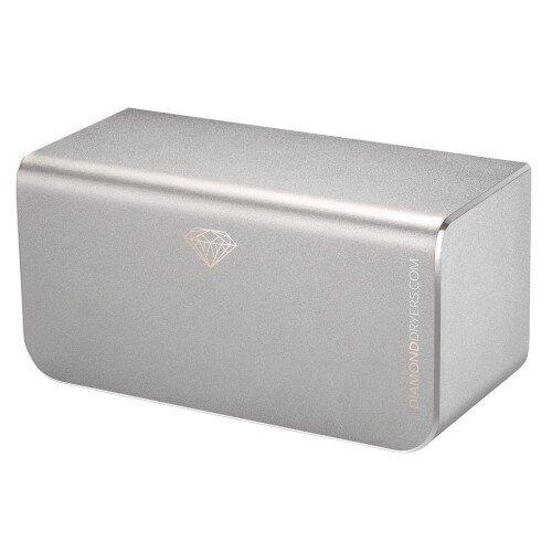 Diamond Dryer Hand Dryer - Silver