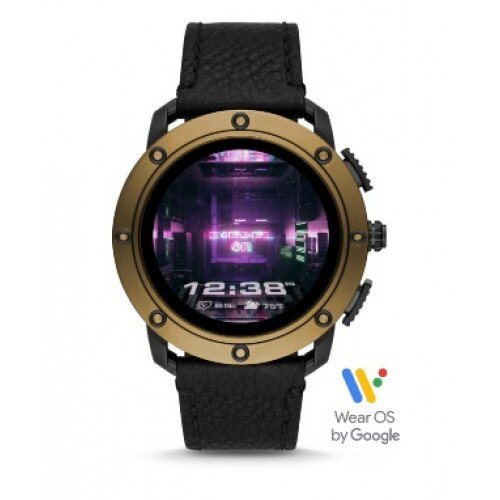 Diesel On Axial Smartwatch - Bronze Stainless Steel and Black
