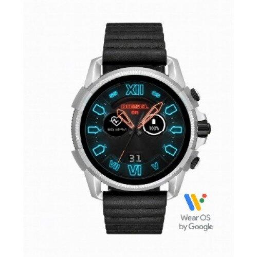 Diesel On Full Guard 2.5 Smartwatch - Black Leather