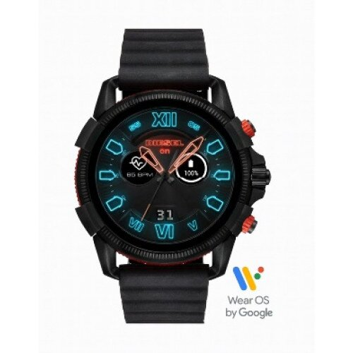 Diesel On Full Guard 2.5 Smartwatch - Black Silicone
