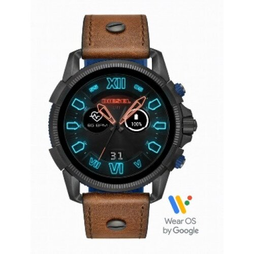Diesel On Full Guard 2.5 Smartwatch - Brown Leather