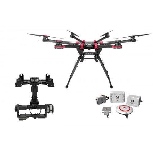 DJI Spreading Wings S900 + A2 + Zenmuse Z15-GH4 (HD)