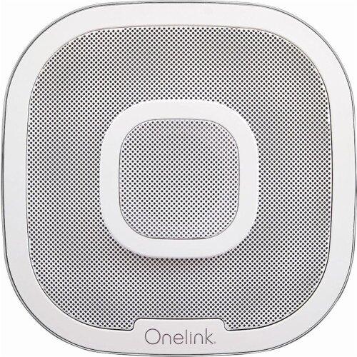 First Alert Onelink Safe & Sound Smart Smoke + Carbon Monoxide Alarm and Speaker with Amazon Alexa