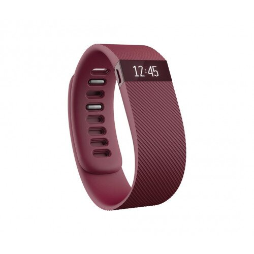 Fitbit Charge Activity Tracker + Sleep Wristband - Burgundy - XL
