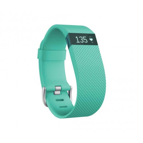 Fitbit Charge HR Heart Rate and Activity Tracker + Sleep Wristband - Teal - XL