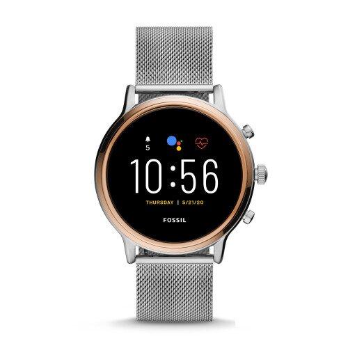 Fossil Gen 5 Smartwatch Julianna HR - Stainless Steel Mesh