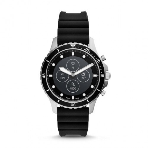 Fossil Hybrid Smartwatch HR FB-01 - Black Silicone
