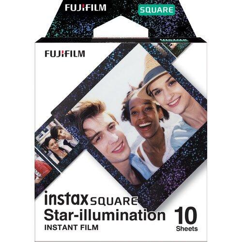 Fujifilm Instax SQUARE Film - Star-Illumination - 10 Sheets
