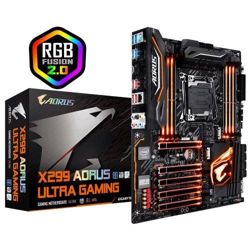 Gigabyte Intel X299 AORUS Ultra Gaming Motherboard