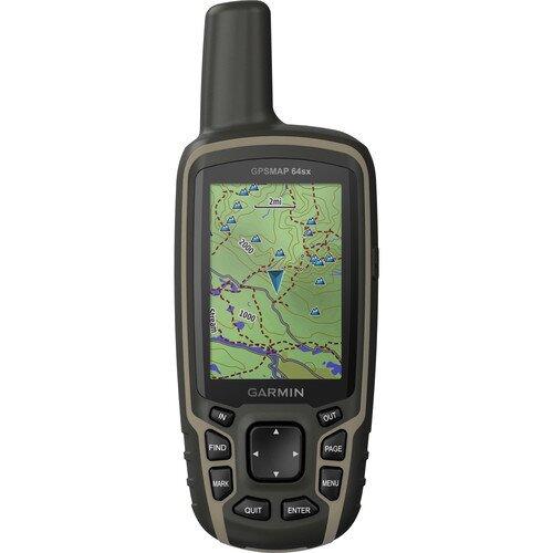 Garmin GPSMAP 64sx Handheld Outdoor GPS with Navigation Sensors