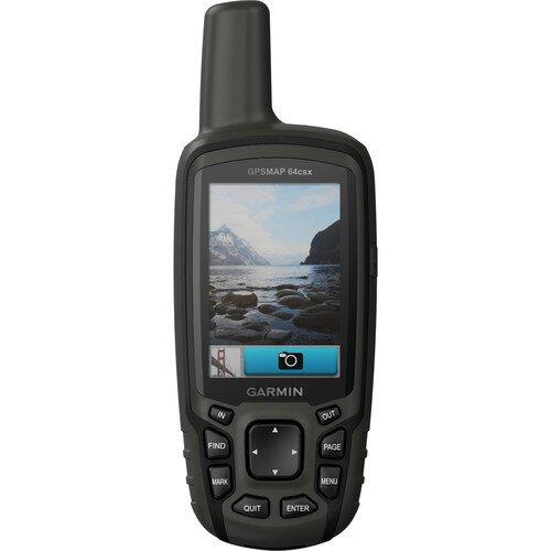 Garmin GPSMAP 64csx Handheld Outdoor GPS Navigation Sensors and Camera