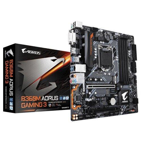 Gigabyte Intel B360M AORUS Gaming 3 Motherboard