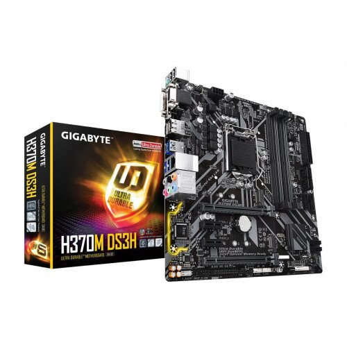 Gigabyte Intel H370 DS3H Ultra Durable Motherboard With Intel Gbe LAN with cFos Speed