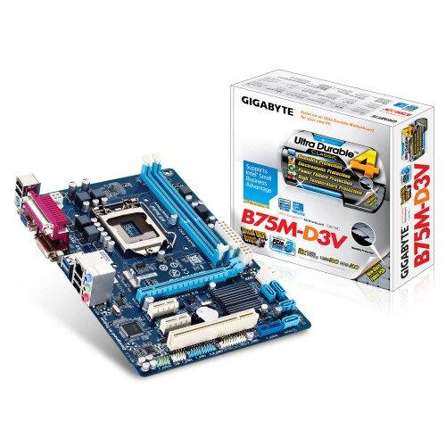 Gigabyte GA-B75M-D3V Motherboard