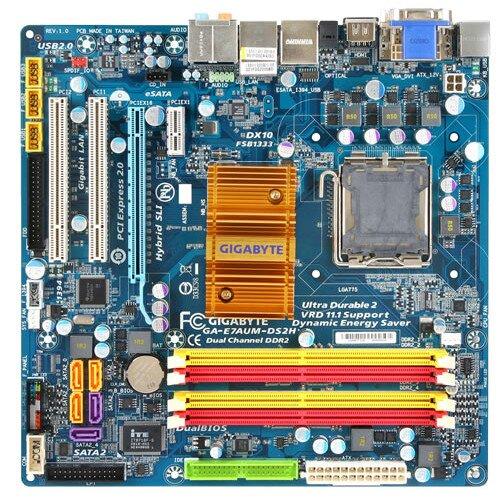 Gigabyte GA-E7AUM-DS2H Motherboard