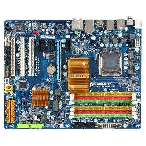 Gigabyte GA-EP43C-DS3 Motherboard