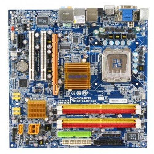 Gigabyte GA-G33M-S2H Motherboard