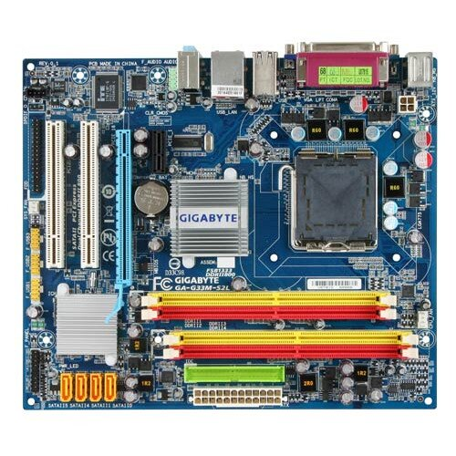 Gigabyte GA-G33M-S2L Motherboard