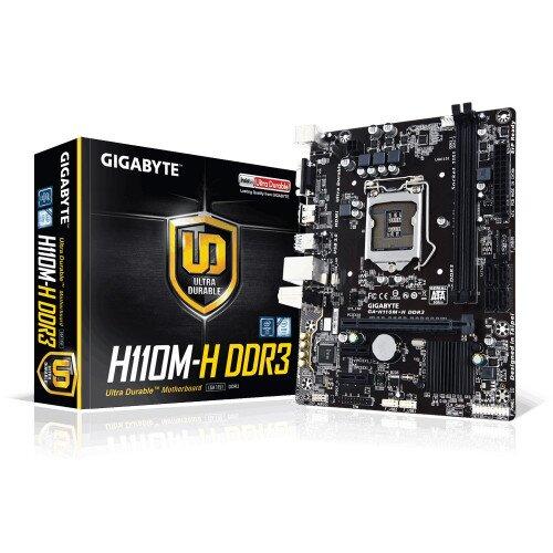 Gigabyte GA-H110M-H DDR3 Motherboard