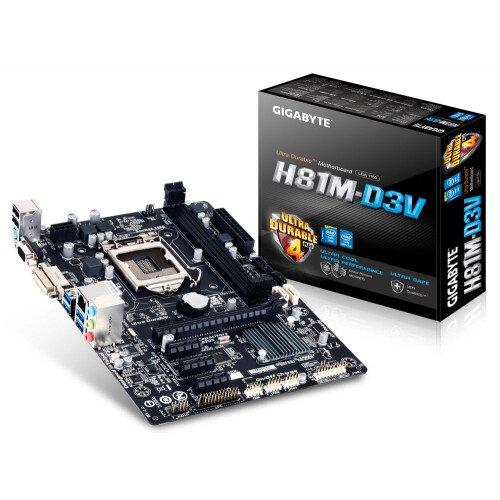 Gigabyte GA-H81M-D3V Motherboard