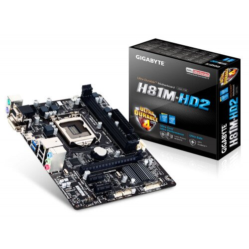 Gigabyte GA-H81M-HD2 Motherboard