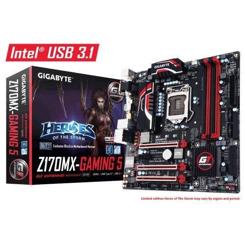 Gigabyte GA-Z170MX-Gaming 5 Motherboard