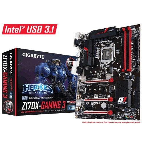 Gigabyte GA-Z170X-Gaming 3 Motherboard