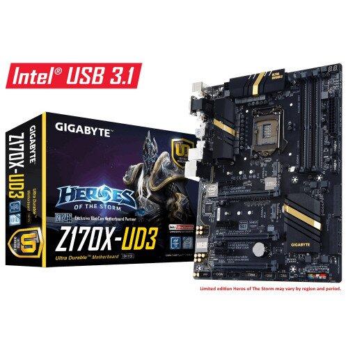 Gigabyte GA-Z170X-UD3 Motherboard