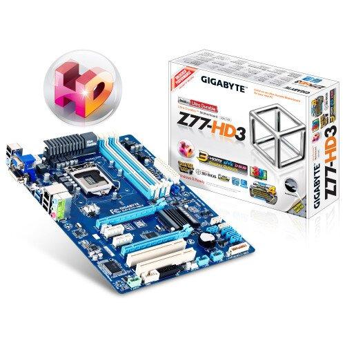 Gigabyte GA-Z77-HD3 Motherboard