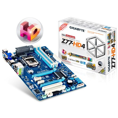 Gigabyte GA-Z77-HD4 Motherboard