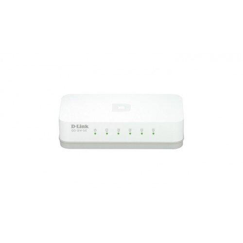 D-Link dlinkgo 5-Port Fast Ethernet Desktop Switch
