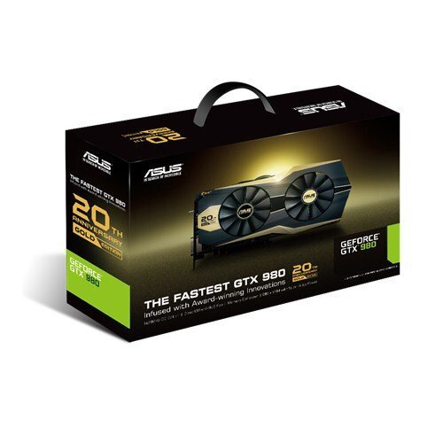 ASUS GTX 980 20th Anniversary Gold Edition Graphic Card
