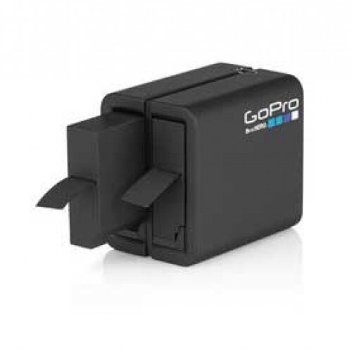 GoPro Dual Battery Charger + Battery (for HERO4 Black/HERO4 Silver)