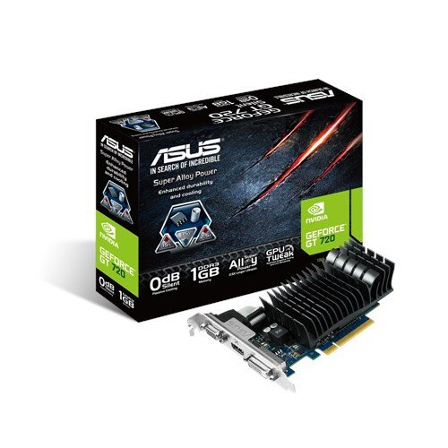 ASUS Geforce GT720-SL-1GD3-BRK Graphic Card