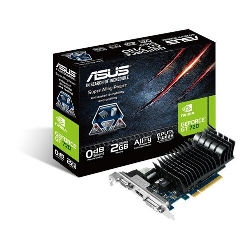 ASUS GeForce GT720-SL-2GD3-BRK Graphic Card