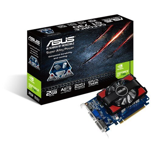 ASUS GeForce GT 730 2GB DDR3 Graphics Card