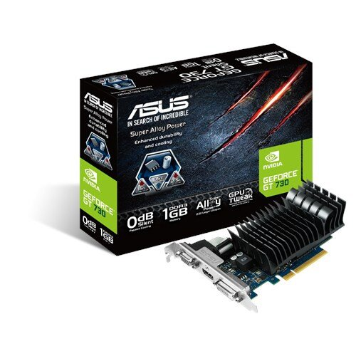 ASUS GeForce GT 730 1GB DDR3 Graphics Card