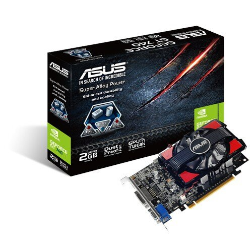 ASUS GeForce GT 740 2GB DDR3 Graphics Card