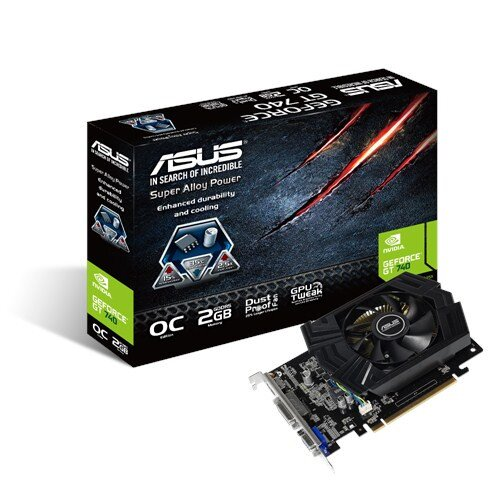 ASUS GeForce GT740-OC-2GD5 Graphics Card
