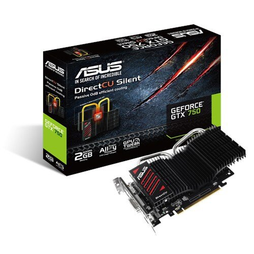 ASUS GTX750-DCSL-2GD5 Graphics Card