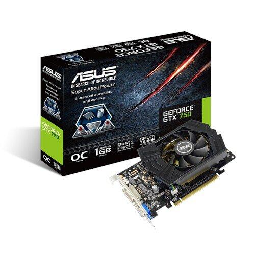 ASUS GeForce GTX 750 1GB GDDR5 Graphics Card