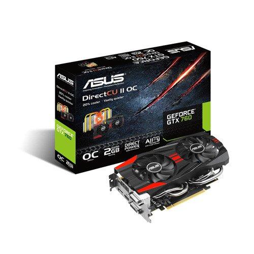 ASUS GeForce GTX 760 DirectCU II Graphics Card