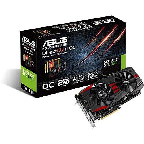 ASUS GeForce GTX 960 DC2OC Black Edition Gaming Graphics Card